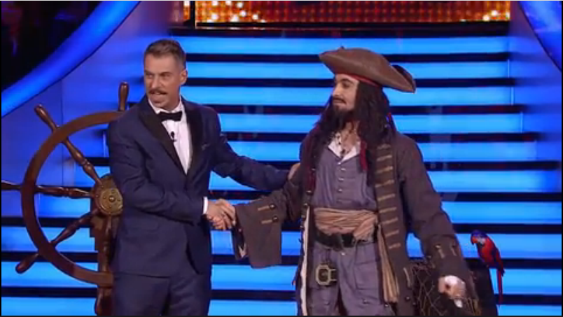Sosia / Jack Sparrow, Charlie Chaplin, Johnny Depp picture