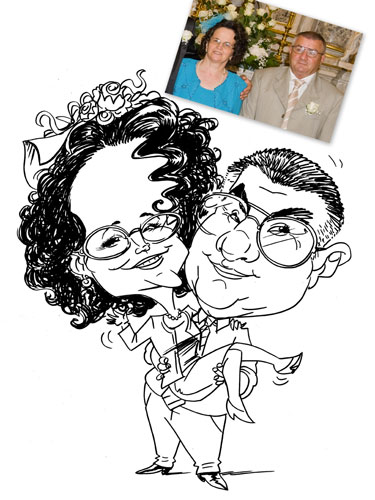Live Caricature Artist picture