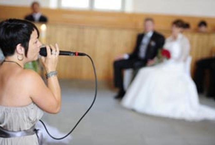 Nadja Acquaroli - Hochzeitssängerin